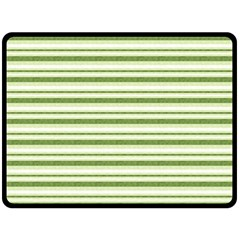 Spring Stripes Double Sided Fleece Blanket (large)