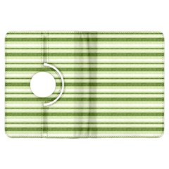 Spring Stripes Kindle Fire Hdx Flip 360 Case