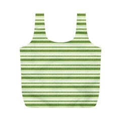Spring Stripes Full Print Recycle Bags (m)