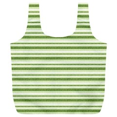 Spring Stripes Full Print Recycle Bags (l)