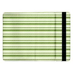 Spring Stripes Samsung Galaxy Tab Pro 12 2  Flip Case