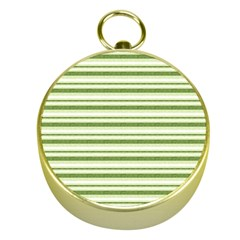 Spring Stripes Gold Compasses