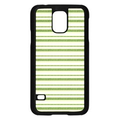 Spring Stripes Samsung Galaxy S5 Case (black)