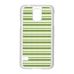 Spring Stripes Samsung Galaxy S5 Case (white)