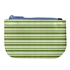 Spring Stripes Large Coin Purse