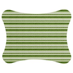 Spring Stripes Jigsaw Puzzle Photo Stand (bow)