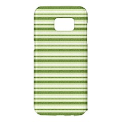 Spring Stripes Samsung Galaxy S7 Edge Hardshell Case