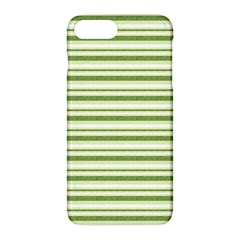 Spring Stripes Apple Iphone 7 Plus Hardshell Case