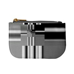 Black And White Endless Window Mini Coin Purses