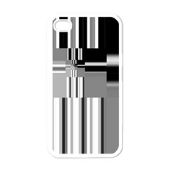 Black And White Endless Window Apple Iphone 4 Case (white)