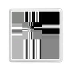 Black And White Endless Window Memory Card Reader (square)