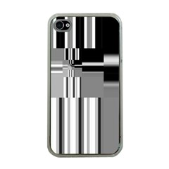 Black And White Endless Window Apple Iphone 4 Case (clear)