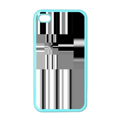 Black And White Endless Window Apple Iphone 4 Case (color)