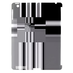 Black And White Endless Window Apple Ipad 3/4 Hardshell Case (compatible With Smart Cover)