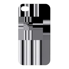 Black And White Endless Window Apple Iphone 4/4s Premium Hardshell Case