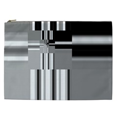 Black And White Endless Window Cosmetic Bag (xxl)