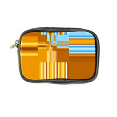 Endless Window Blue Gold Coin Purse