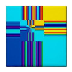 Colorful Endless Window Tile Coasters