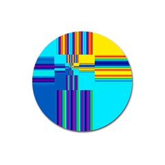 Colorful Endless Window Magnet 3  (round)