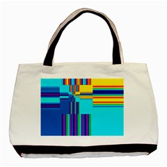 Colorful Endless Window Basic Tote Bag