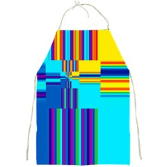 Colorful Endless Window Full Print Aprons