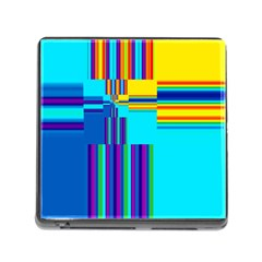 Colorful Endless Window Memory Card Reader (square)