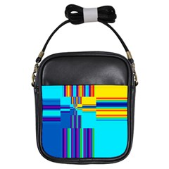 Colorful Endless Window Girls Sling Bags