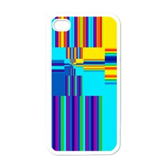 Colorful Endless Window Apple Iphone 4 Case (white)
