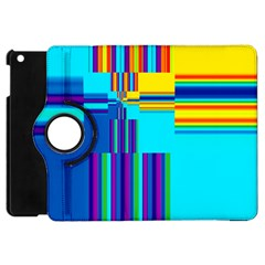 Colorful Endless Window Apple Ipad Mini Flip 360 Case
