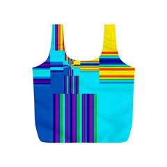 Colorful Endless Window Full Print Recycle Bags (s)