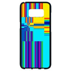 Colorful Endless Window Samsung Galaxy S8 Black Seamless Case