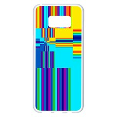 Colorful Endless Window Samsung Galaxy S8 Plus White Seamless Case