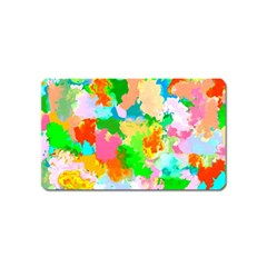 Colorful Summer Splash Magnet (name Card)