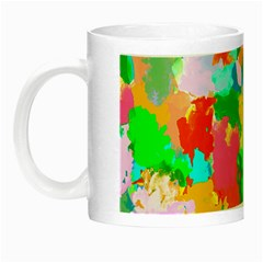 Colorful Summer Splash Night Luminous Mugs