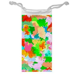 Colorful Summer Splash Jewelry Bag