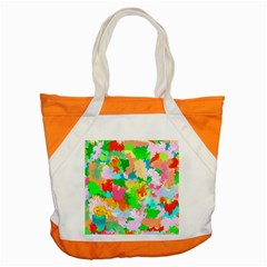 Colorful Summer Splash Accent Tote Bag