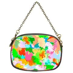 Colorful Summer Splash Chain Purses (two Sides)