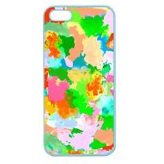 Colorful Summer Splash Apple Seamless Iphone 5 Case (color)