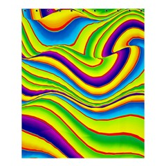 Summer Wave Colors Shower Curtain 60  X 72  (medium)