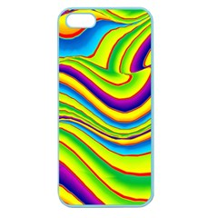 Summer Wave Colors Apple Seamless Iphone 5 Case (color)