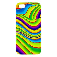 Summer Wave Colors Iphone 5s/ Se Premium Hardshell Case