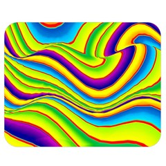 Summer Wave Colors Double Sided Flano Blanket (medium)