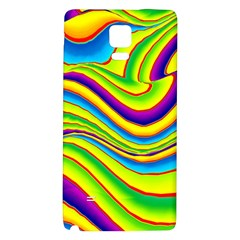 Summer Wave Colors Galaxy Note 4 Back Case