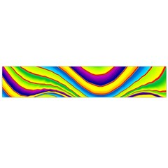 Summer Wave Colors Flano Scarf (large)