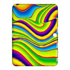 Summer Wave Colors Samsung Galaxy Tab 4 (10 1 ) Hardshell Case