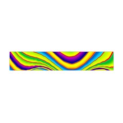 Summer Wave Colors Flano Scarf (mini)