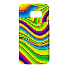 Summer Wave Colors Samsung Galaxy S7 Hardshell Case