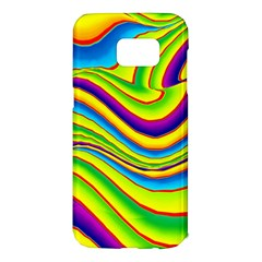 Summer Wave Colors Samsung Galaxy S7 Edge Hardshell Case