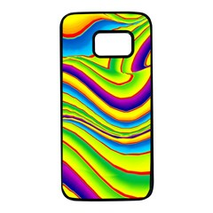 Summer Wave Colors Samsung Galaxy S7 Black Seamless Case