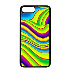 Summer Wave Colors Apple Iphone 7 Plus Seamless Case (black)